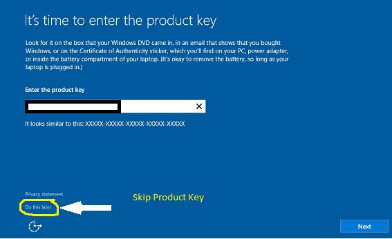 Windows10-Skip-Activation